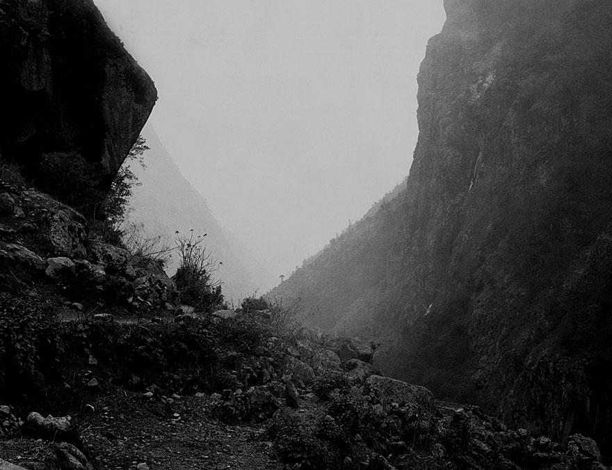 Anpurna Massiv 3 | 100 x 130cm | Nepal 1995