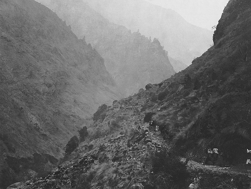 Anpurna Massiv 2 | 100 x 130cm | Nepal 1995
