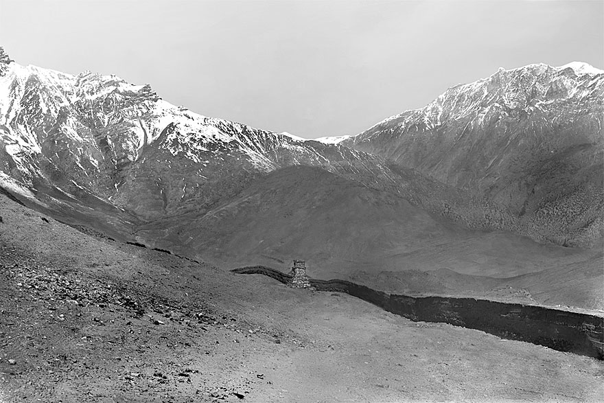 Anpurna Massiv 1 | 100 x 130cm | Nepal 1995