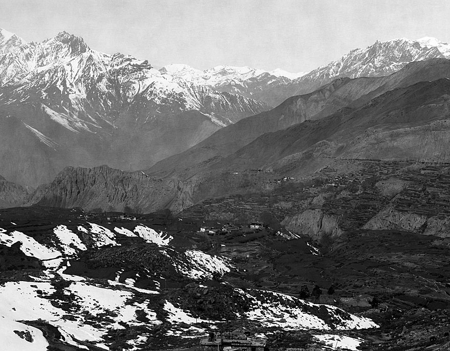 Anpurna Massiv 6 | 100 x 130cm | Nepal 1995