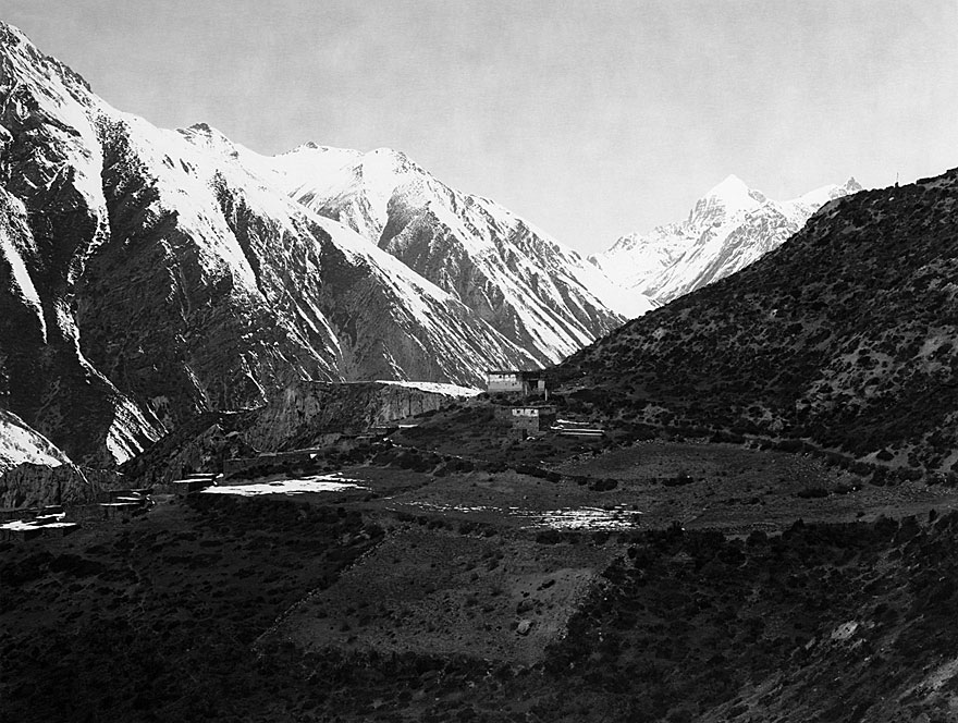 Anpurna Massiv 10 | 100 x 130cm | Nepal 1995