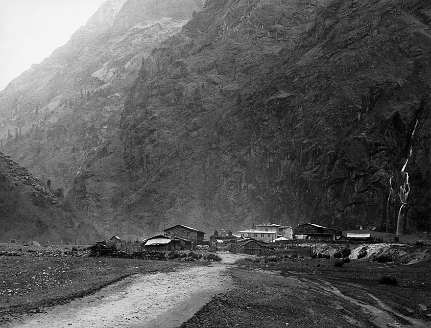 Anpurna Massiv 7 | 100 x 130cm | Nepal 1995