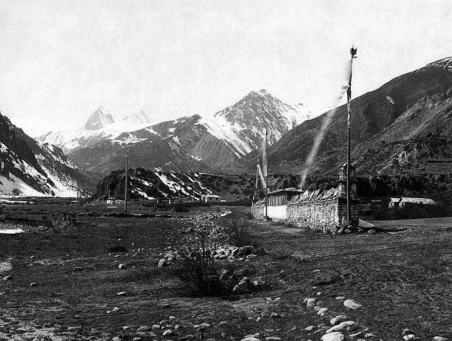 Anpurna Massiv 5 | 100 x 130cm | Nepal 1995