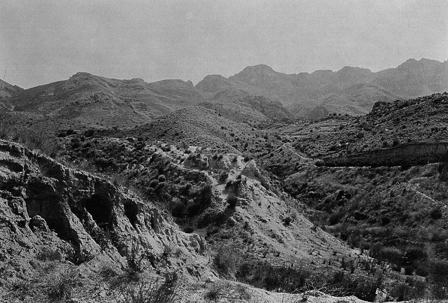 Berge Andalusien 2 | 100 x 130cm | Spanien 2012