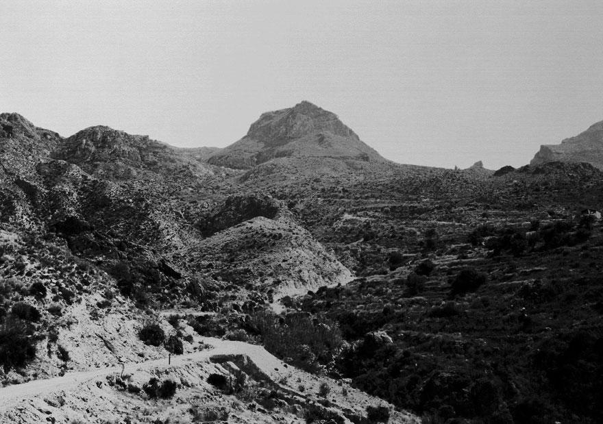 Berge Andalusien 4 | 100 x 130cm | Spanien 2012
