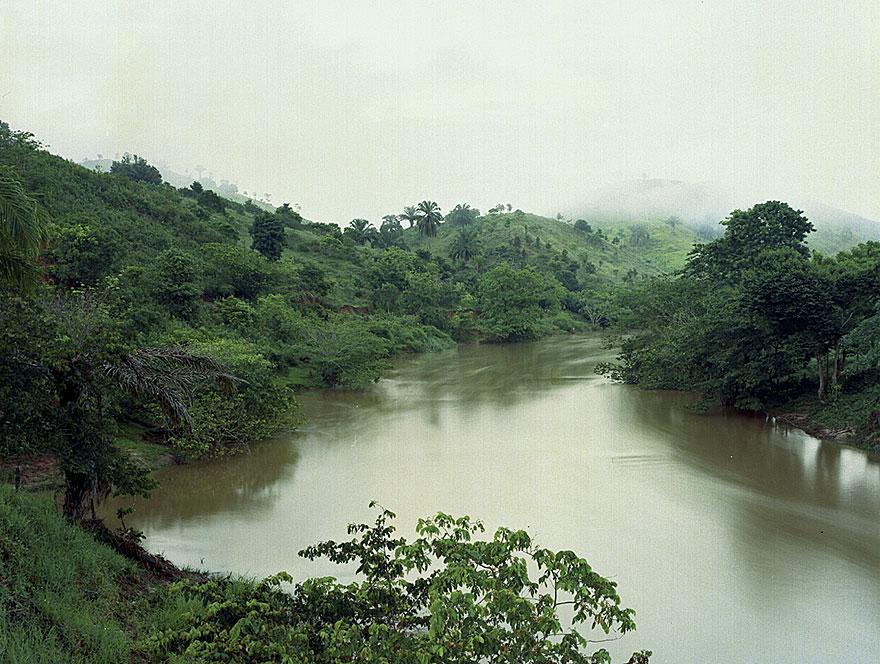 River, Bahia 1 | 130 x 160 cm | Brasilien 2000