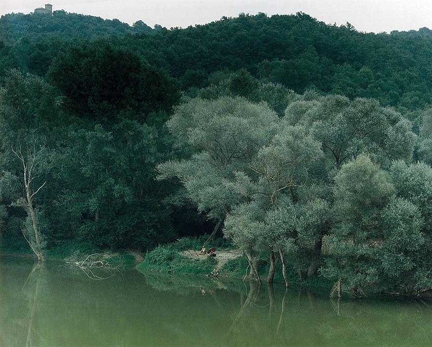 Tiber | 130 x 160 cm | Umbrien 1996