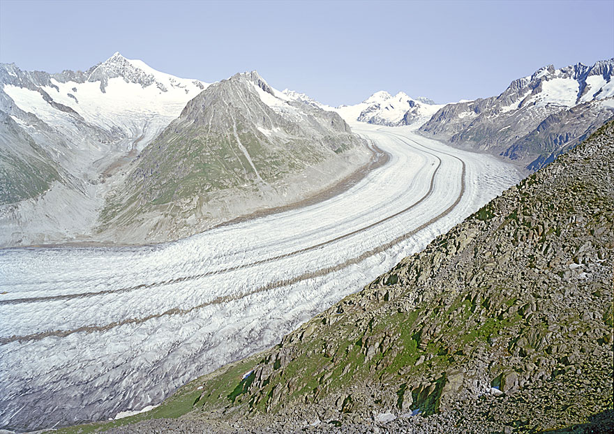 Alpen 4 | Aletsch | 240 x 180 cm | Schweiz 2008