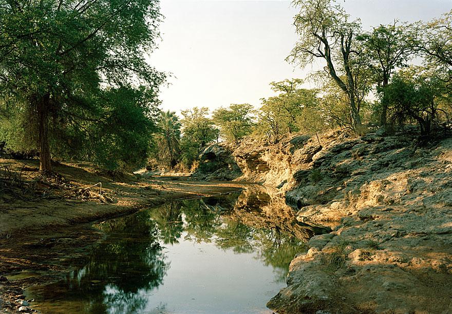 River | 130 x 160 cm | Namibia 2003