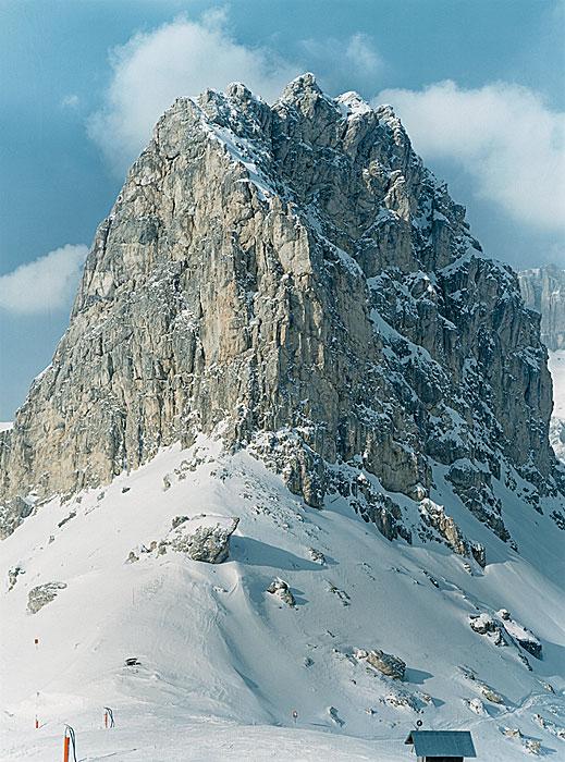 Alpen 7 | Dolomiten | 240 x 180 cm | Italien 1993