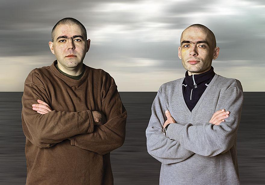 Balance de Mouvement 16 | Denis und Dimitri | 140 x 210 cm | 1996