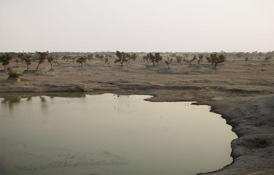 Wüstensee | 130 x 200 cm | Rajastan 2011