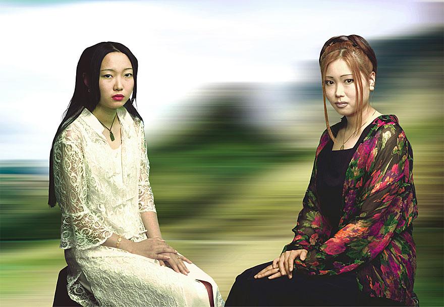 Balance de Mouvement 19 | Lucy und Jane | 140 x 210 cm | 1996