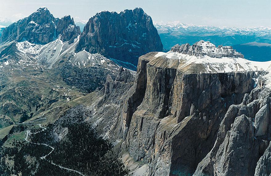 Alpen 3 | Dolomiten |120 x 160 cm | Italien 1993