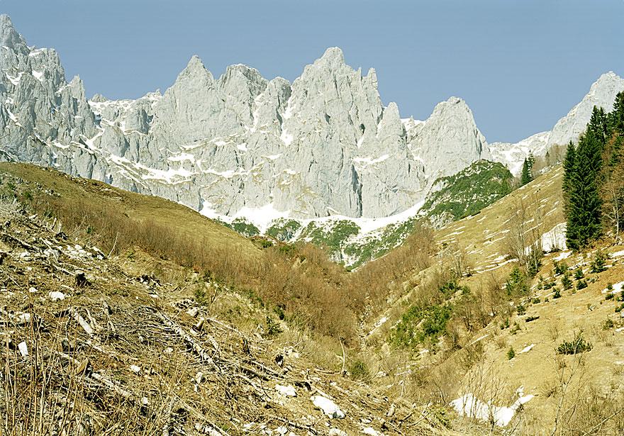 Alpen 5 | Wilder Kaiser |120 x 160 cm | Österreich 2008