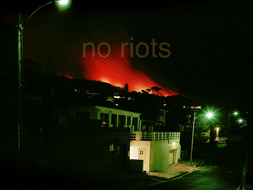 No Project 5 | no riots | 100 x 120 cm |  2007