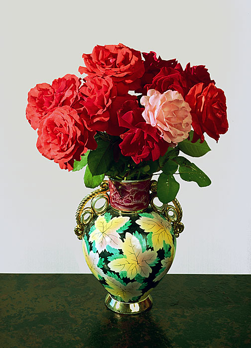 Flowers 8 | Rose | 240 x 180 cm | 1988