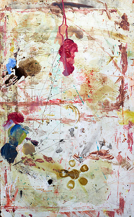 Marks and Traces 22 |  Fundacion-Valparaiso | 160 x 120 cm | Mojaca 2012