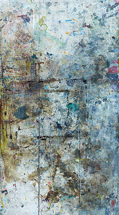 Marks and Traces 27 |CAR | 160 x 120 cm | Cill-Raiiag 2012