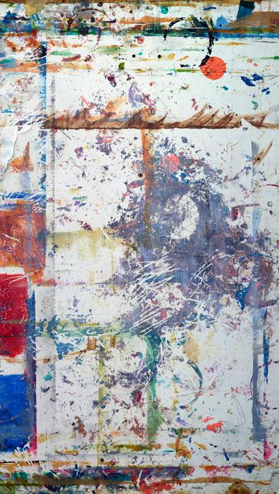 Marks and Traces 29 | Fundacion-Valparaiso | 160 x 120 cm | Mojaca 2012