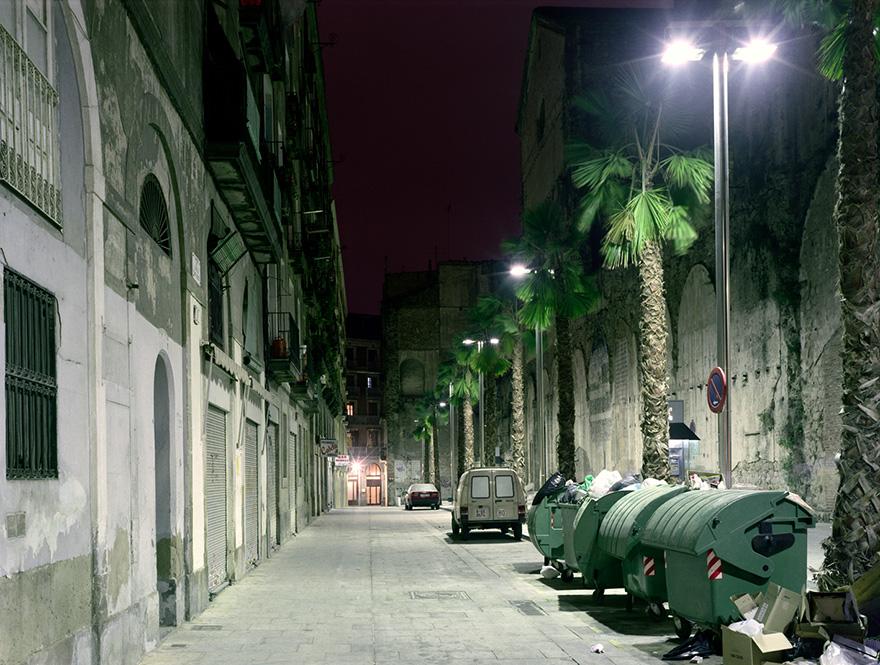 Nachtstrasse 1 | 120x160 Barcelona | 2000